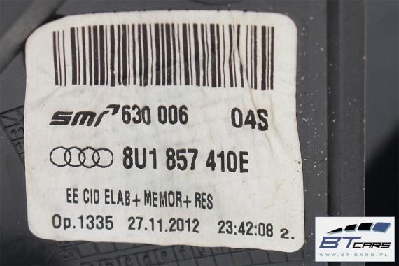 AUDI Q3 LUSTERKO ZEWNĘTRZNE DRZWI PRAWE 12PIN LZ9Y pinów kabli przewodów 8U 12 PIN Kolor: LZ9Y - czarny phantom