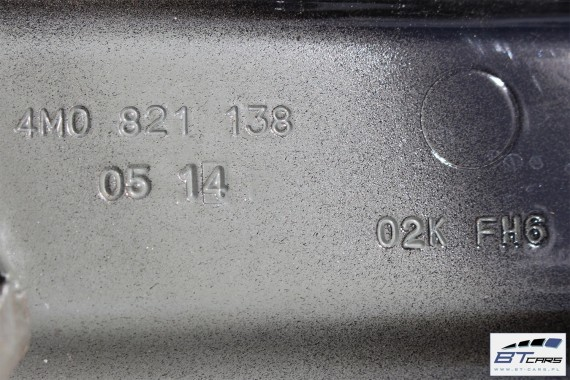 AUDI Q7 ŚLIZG WSPORNIK BŁOTNIKA 4M0821137 4M0821138 4M0821131 4M0 821 137 4M0 821 138 4M0 821 131  prowadnica mocowanie