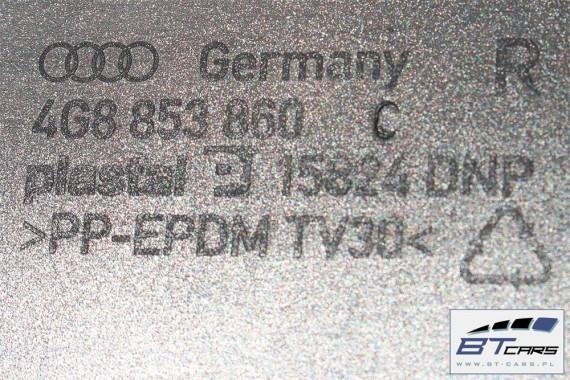AUDI A7 LISTWY PROGOWE LISTWA PROGOWA 4G8853859C 4G8853860C zewnetrzna progowa 4G8 853 859 C 4G8 853 860 C